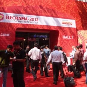 «Стример» на выставке Elecrama в Индии