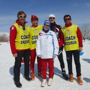Чемпионская лыжня-2013 Елены Щукиной