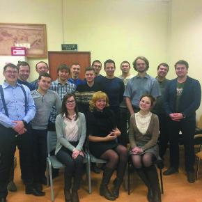 Встреча молодых ученых с руководством «Стримера»